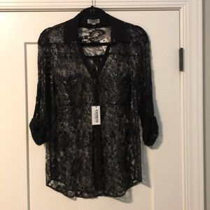 Express lace blouse